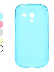 Case Style Simple souple pour Samsung Galaxy I8190 Mini S3 (couleurs assorties)