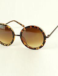 Women's Vintage Round Frame Sunglasses