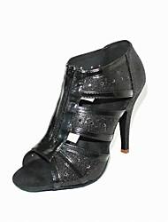 Zapatos de baile (Negro/Blanco) - Danza latina/Salón de Baile Tacón de estilete