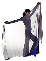 Performance Faux Silk Belly Dance Veils For Ladies More Colors