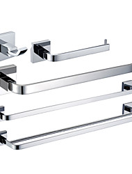 Chrome Finish Brass Bathroom Accessory Sets