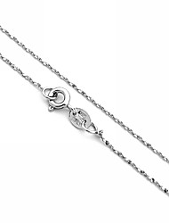 Shiny 925 Sterling Silver Seeds Chain Necklace