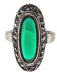 Das Oval Antique Silver Ring