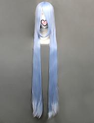peruca cosplay inspirado Rozen Maiden-mercúrio lampe