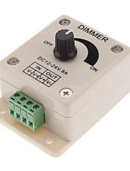 led ışıkları dimmer switch (dc12-24v)