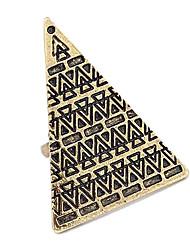 Vintage Pyramid Pattern Opening Ring