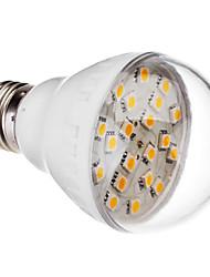 E27 3W 20x5050 SMD 240-300LM 2800-3200K Warm White Light LED Ball Bulb (220V)