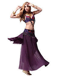 Performance Dancewear Viscose Belly Dance Outfit For Ladies