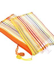 Arco-íris Têxtil Estilo com corda de elevação A6-2/1 Pastas (cor aleatória)