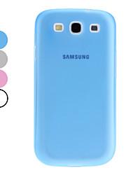 Capa de Silicone cor sólida para Samsung Galaxy S3 I9300 (cores sortidas)