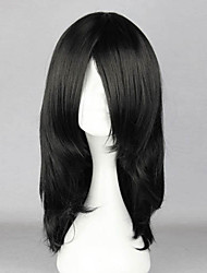 Cosplay Wigs Naruto Orochimaru Black Medium Anime Cosplay Wigs 55 CM Heat Resistant Fiber Male