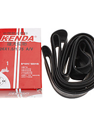 KENDA 26*1.5/1.75 AV Rubber Material Bicycle Inner Tire