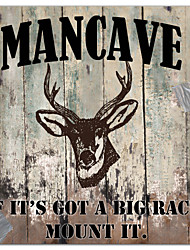 Stretched Canvas Art Animal Mancave II by Mindy Sommers Ready to Hang
