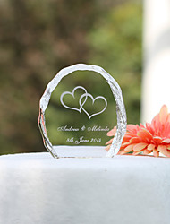 Cake Topper Crystal Garden Theme