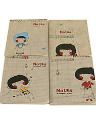 Courtil modèle féminin Notebook (couleurs aléatoires)
