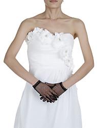 Wrist Length Fingertips Glove Polyester Bridal Gloves/Party/ Evening Gloves
