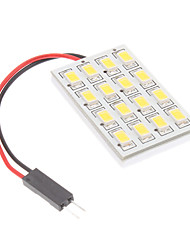 Ampoule pour lampe de lecture de voiture (12V) T10/BA9S/Festoon 3.5W 16x5730SMD Natural White Light LED