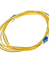 Fiber Optic Cable, LC/LC-UPC, Single Mode, Duplex - 3 meter (9/125 Type)