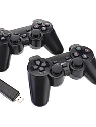 2.4GHz Wireless Vibration Controller for PC (Include 2 Controllers)