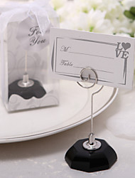 Ribbons Crystal Place Card Holders 1 Standing Style Gift Box