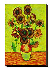 Girassóis por Vincent Van Gogh Famosos em tela esticada