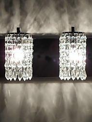 Cristal Chandeliers muraux,Moderne/Contemporain E12/E14 Métal