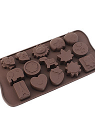 Toys Theme Silicone Chocolate Mould