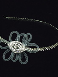 Women's Rhinestone/Alloy/Net Headpiece - Special Occasion Headbands