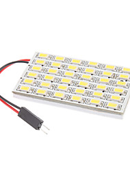 Ampoule pour lampe de lecture de voiture (12V) T10/BA9S/Festoon 8W 36x5730SMD Natural White Light LED
