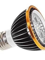 5W E26/E27 Spot LED MR16 5 LED Haute Puissance 350 lm Blanc Chaud Gradable AC 100-240 V