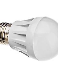 3W E26/E27 Ampoules Globe LED A50 20 SMD 3014 270 lm Blanc Naturel AC 100-240 V