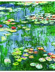 Lírios de Água (Nymphéas), c.1916 por Claude Monet Impressão artística Famous