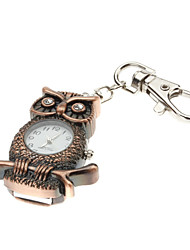 8Go 2 en 1 Owl forme Keychain Watch USB 2.0 Flash Drive U Disk Drive USB Memory Stick (Brown)