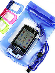 Funda/Bolsa Impermeable Pesca - 1 pcs - Impermeable Verde / Rosado / Azul Plástico blando - for Mobile Phone and Camera Pesca en General