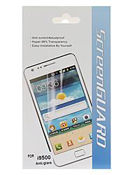 Anti-Glare Screen Protector mit Reinigungstuch für Samsung Galaxy i9500 S4