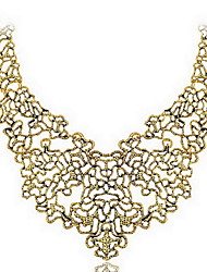 Fashion Vintage Noble Casting Choker Necklace