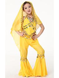 Dancewear Chiffon Belly Dance Veils For Children More Colors