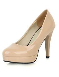 fabulosas couro envernizado salto stiletto bombas de sapatos casuais (mais cores)