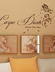 Carpe Diem saisissent le Wall Sticker Day