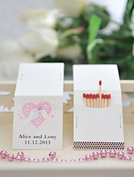 Wedding Décor Personalized Matchbooks - Marry Me (Set of 50)