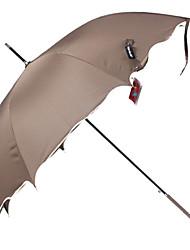 Bonito ondulado guarnição clássico Lolita Umbrella