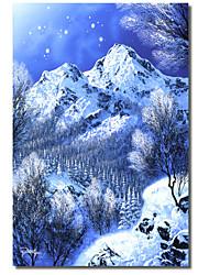 Stampato Art Canvas cristallo Daydream da Jon Rattenbury con Strethed telaio