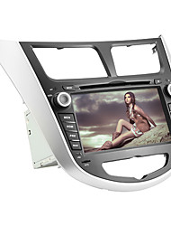 7 polegadas touchscreen capacitivo carro dvd player para hyundai verna (gps, tv, Wifi/3G)