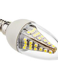 3W E14 Luces LED en Vela C35 48 SMD 5050 230 lm Blanco Fresco Decorativa AC 100-240 V