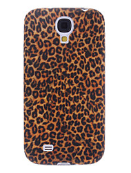 Elegant Leopard Print Pattern Soft Case for Samsung Galaxy S4 I9500