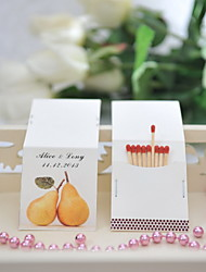Wedding Décor Personalized Matchbooks - The Perfect Pair (Set of 50)