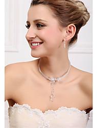 Women's Alloy Jewelry Set Imitation Pearl