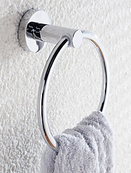 Stainless Steel Circular Base Austin Towel Ring