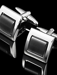 Simple Square Cufflinks