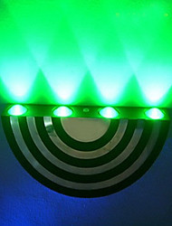 4W moderne Led applique murale avec diffusion de la lumière Design UFO lame semi-circulaire